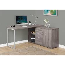 Monarch Computer Desk Computer Desk 60 L Taupe Left Or Right Facing