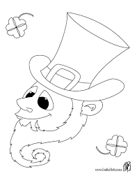 pot of gold harp and hat coloring pages hellokids com