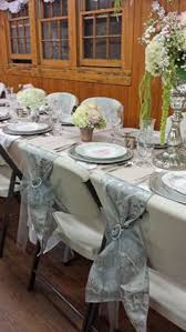 Diy Dining Room Chair Covers by Diy Chair Covers No Sew Made With Pillow Cases U0026 Satin Ribbon