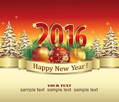New Year Tree Decoration 2016 postcard happy new year 2018 with a christmas tree royalty free