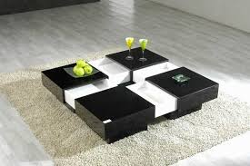 Black Living Room Table Innards Interior - Black modern living room sets