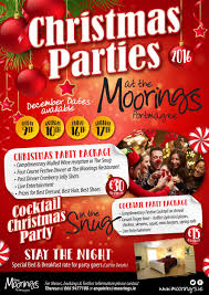 book your christmas party night here the moorings portmagee