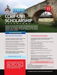 ccrif scholarship programme ccrif spc