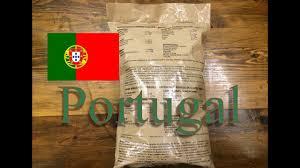 portugal 24 hour ration menu 4 ração individual de combate