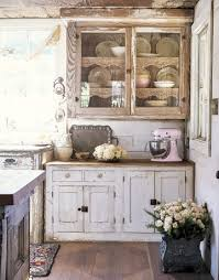 shabby chic kitchen cabinets ideas