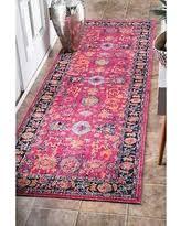 Floral Runner Rug On Sale Now 20 Off Nuloom Vintage Floral Mandala Pink Runner Rug