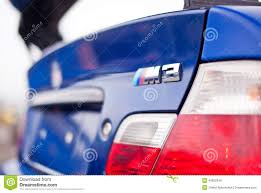 logo bmw m close up chome bmw m3 logo stock image image of rear 40852549