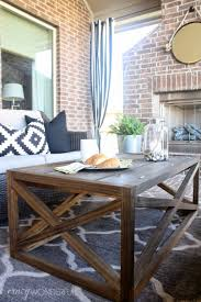 Homemade Patio Furniture Plans by Coffee Table Diy Plans Industrial Outdoor Coffee Table Ana White