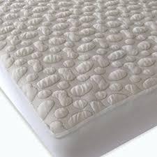Organic Cotton Crib Mattress Pad 40 Winks Organic Cotton Pebble Puff Crib Mattress Pad