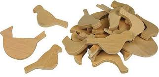 birds small wood shapes 041441 details rainbow resource center