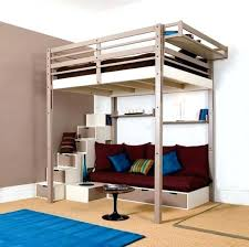 Loft Bed With Futon And Desk Loft Bed Highlands Collection Driftwood Size Loft Bed