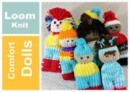 loom knit projects doll toy comfort izzy duzuza softies and pocket