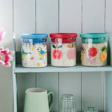 blue kitchen storage jars cowboysr us