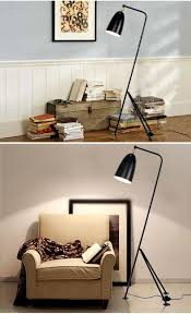modern loft iron stand lamp triangle floor lamp retro home