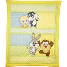 Looney Tunes Crib Bedding Baby Looney Tunes 7p Crib Bedding Nursery Set Tweety Bird Circles Taz