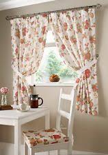 Tie Back Kitchen Curtains by Kitchen Curtains Ebay