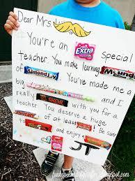 Halloween Candy Poem Funky Polkadot Giraffe Teacher Appreciation Giant Teacher Candy Gram