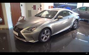 lexus rc 300 white lexus rc 300h review en español prueba test supercars of