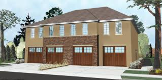 quadplex plans 2 story multi family mediterranean house plan krueger