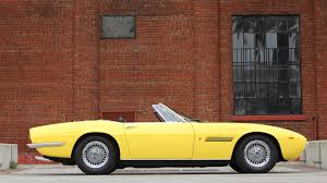 convertible maserati spyder 1969 maserati ghibli spyder grabs 920k at auction