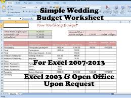 simple wedding planner simple wedding budget worksheet printable and editable for