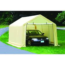 peak style garage metal how to build portable garage image of small portable garage