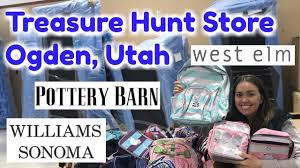 treasure hunt ogden utah pottery barn williams sonoma west elm