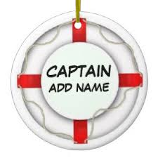 boat captain ornaments u0026 keepsake ornaments zazzle