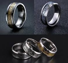 steel rings images The dragon shop nordic dragon steel ring geek fashion jpg