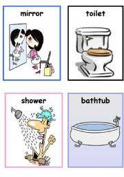 Things In The Bathroom Esl Worksheets For Beginners Things In The Bathroom