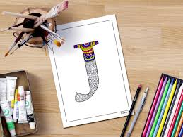 j coloring pages letter u0027j u0027 coloring page printable coloring page