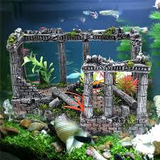 artificial ancient column ruins european castle ornament for
