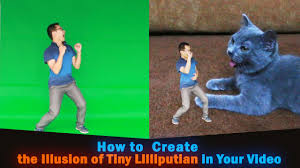 tiny small how to make people small create the illusion of tiny lilliputian in