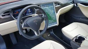 Tesla Carbon Fiber Interior Tesla Model S P85d The Jalopnik Review