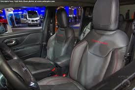 Interior Jeep Renegade New York Auto Show You U0027ve Seen The Exterior Now See The Interior