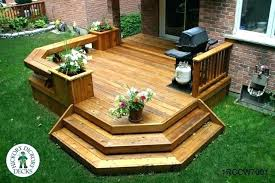 Deck Garden Ideas Small Backyard Deck Patio Ideas Small Deck Design Ideas Photos