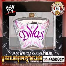 Wwe Bedding Wwe Divas Logo Blown Glass Ornament
