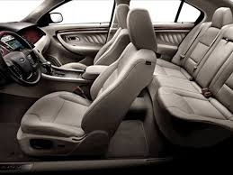 1996 Ford Taurus Interior 2011 Ford Taurus Grey Leather Interior Driver Side View Photo