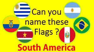 South America Capitals Map Quiz by World Flags Quiz Flags And Capital South America Youtube