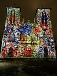 san fernando cathedral light show san fernando light show 1 susan rushton