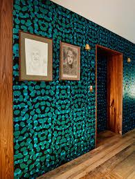 Teal Powder Room Modern In Denver U2014colorado U0027s Design Magazine 10 Hip Wallpaper Designs