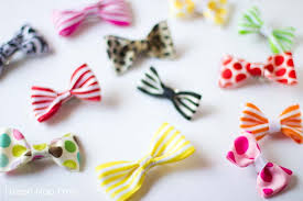 how to make hair bows for simple hair bow tutorial i heart nap time