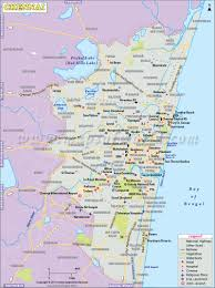North India Map by Chennai Map City Map Of Chennai Tamilnadu India