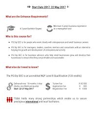 6 Full Block Style Business by Tsiba Education Post Graduate Diploma In Small Enterprise