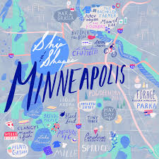 Map Of Minneapolis 24 Hours In Minneapolis With Ship U0026 Shape For The Shoppe