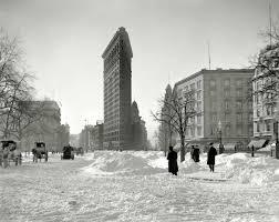 the flatiron building circa 1905 nyc