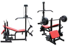 Bench Press Machine Weight Genki Fitness Multi Station Weight Bench Press Incline Barbell