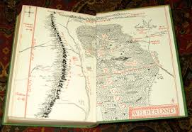 The Hobbit Map 000727 The Hobbit Or There And Back Again 1958 10th Impression