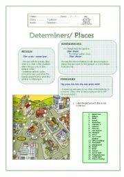 english teaching worksheets determiners