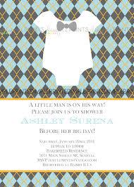 bowtie little man printable baby shower invite dimple prints shop